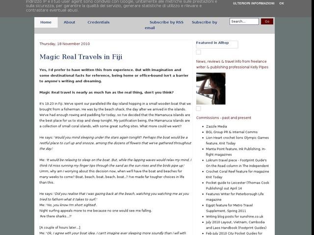 Magic Real Travels in Fiji