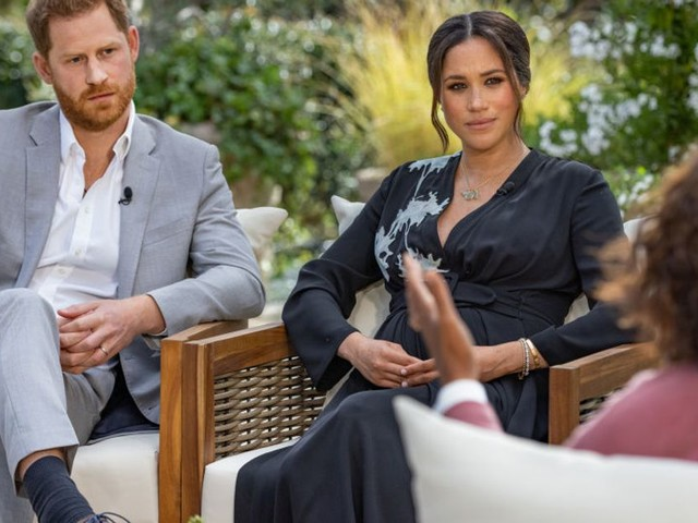 Meghan And Harry : 12 Biggest Bombshells From The Couple's Explosive Oprah Winfrey Interview