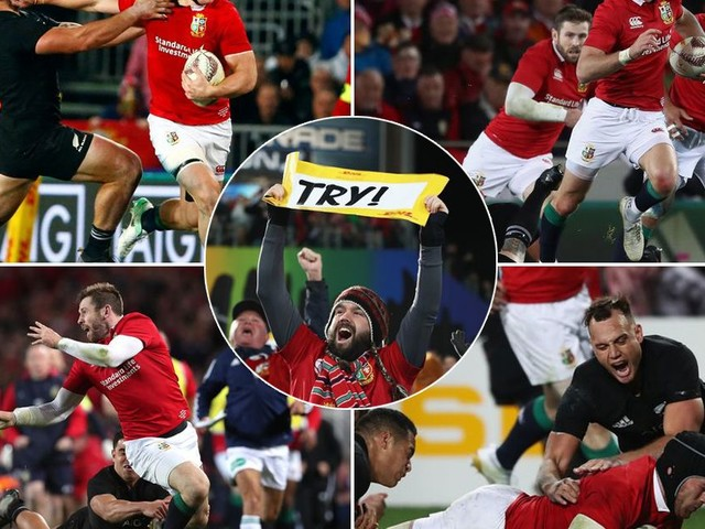Lions try among 'international rugby's best ever' says All Blacks boss Steve Hansen after first Test defeat