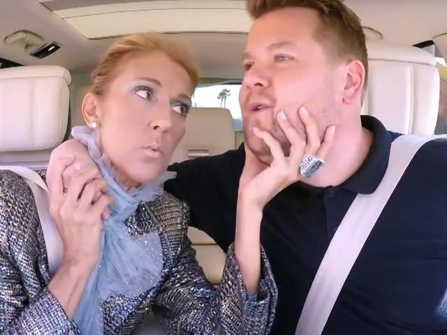 Celine Dion Does 'Carpool Karaoke,' Sings 'Baby Shark,' & Gives Away Her Shoes! (Video)
