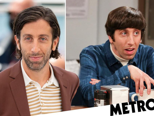 The Big Bang Theory's Simon Helberg a far cry from Howard Wolowitz in chic Cannes appearance