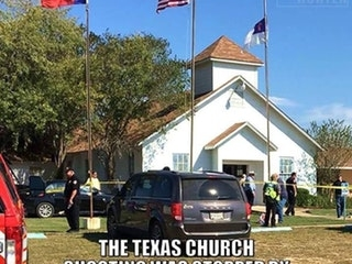 The Texas Church Shooting was Stopped by an NRA Member with an AR-15