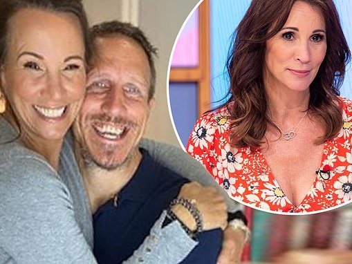 Andrea McLean and husband talk about her mental health battle