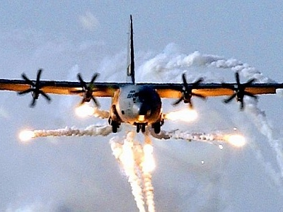 U.S. Navy C-130s Get New Wheels, Carbon Brakes to Last for 2,000 Landings