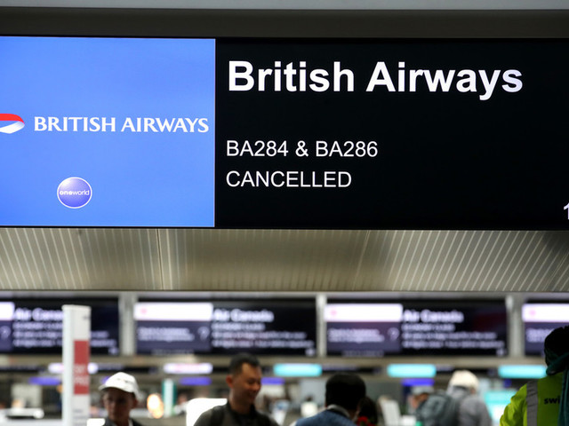 British Airways passengers stranded for up to 23hrs after latest 'technical glitch'