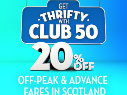 Review of Scotrail Club 50