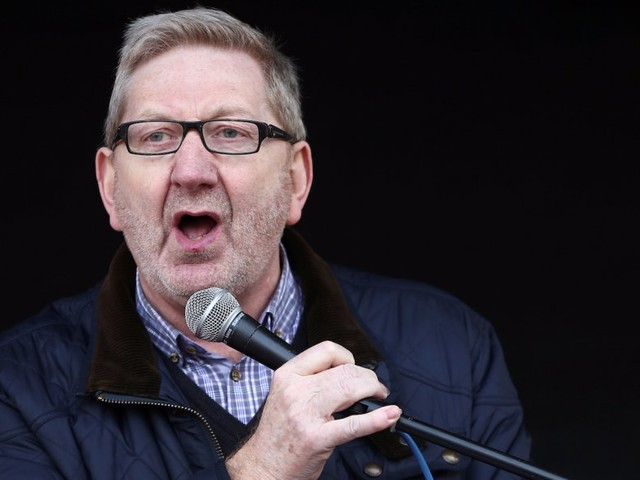Len McCluskey says unions are ready to break the law over the public sector pay cap