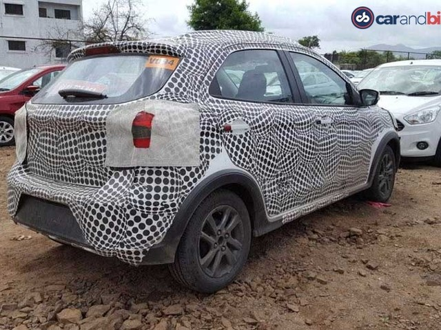 New Ford Figo Cross spied on test in India for the first time
