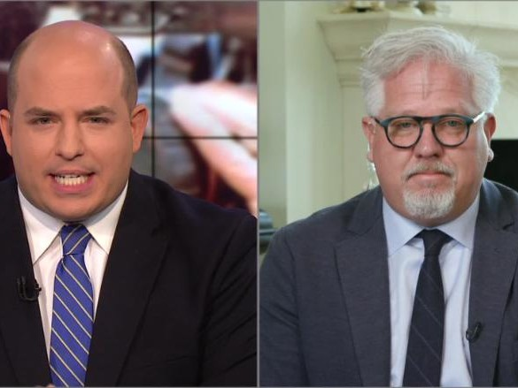 Glenn Beck walks off CNN interview over questions about his media company