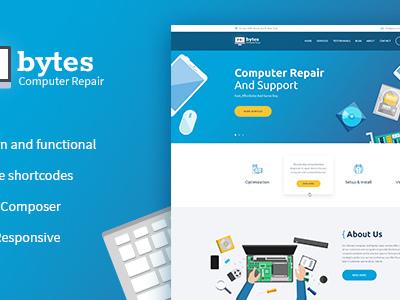 Re:bytes | Computer Repair Service WP Theme (Business)