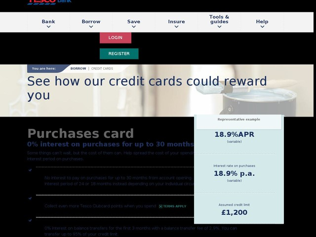 Credit Cards - Compare Our Credit Card Deals - Tesco Bank