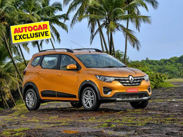 BS6 Renault Triber fuel economy revealed