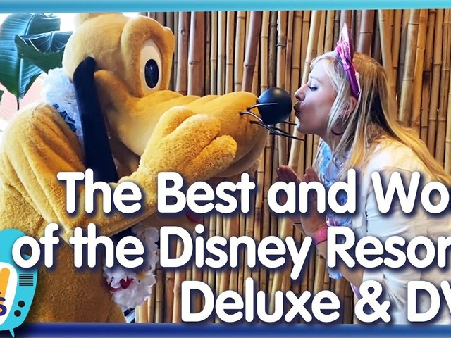 AllEars TV: The BEST and WORST Parts of Disney Hotels!