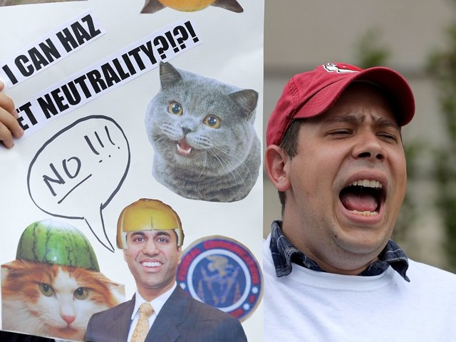 'We are disappointed': Tech firms are speaking up against the FCC's plan to kill net neutrality (FB, GOOG, TWTR)