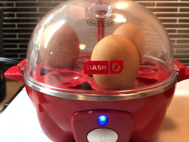 I use this $20 unitasker to make hard-boiled eggs in half the time of traditional methods with absolutely no guesswork