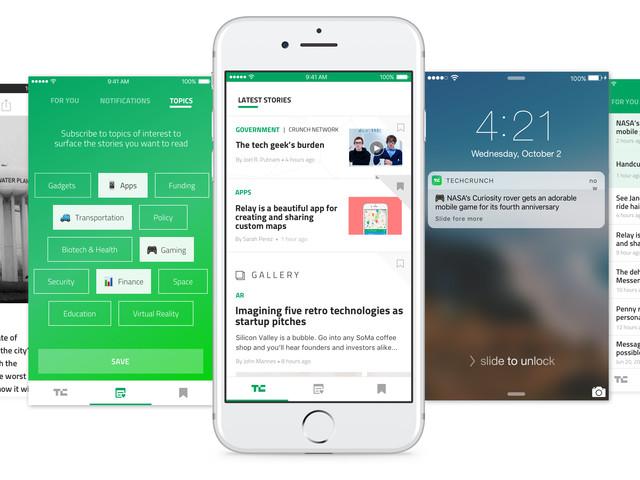 Redesigning the TechCrunch app