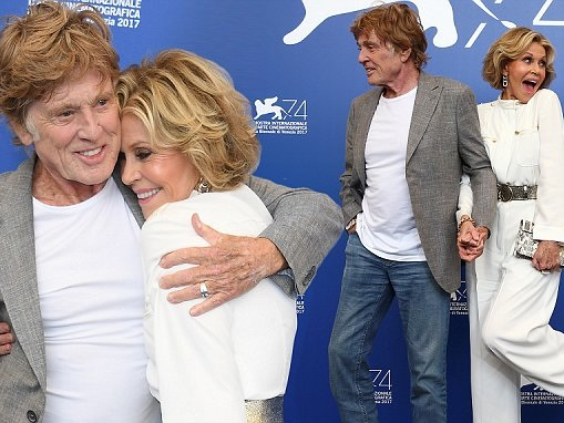 Robert Redford joins Jane Fonda at Venice Film Festival