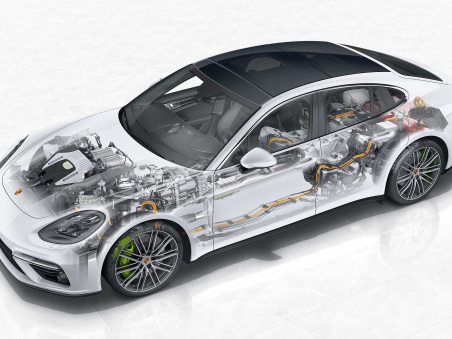 Porsche reports ~60% of new Panamera models delivered in Europe are with plug-in hybrid drive; ramping up for Mission E