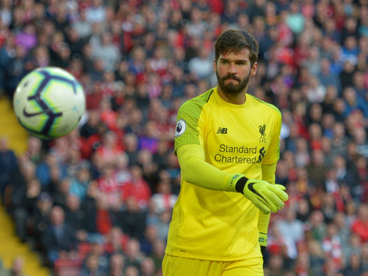 Alisson 'looks like' missing piece for Liverpool: Klopp