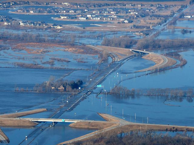 Scenes From Record Flooding in Nebraska