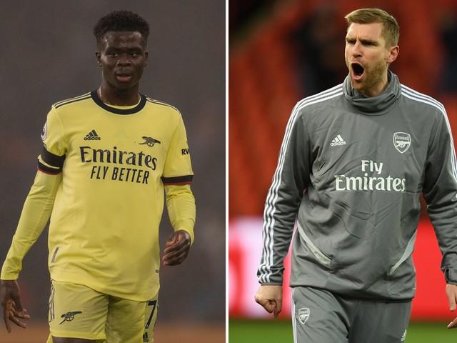 Arsenal coach Per Mertesacker hopes 'magic' Bukayo Saka and Emile Smith Rowe can fire Gunners back into Champions League