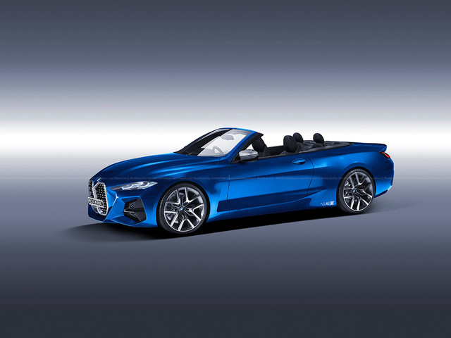 Future BMW 4 Series Convertible gets new renderings
