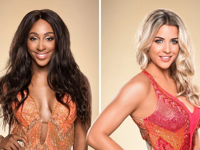 Gemma Atkinson brushes off claims of Strictly feud with Alexandra Burke