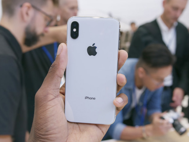 First-day preorders for the iPhone X sold out at Apple.com in minutes (AAPL)