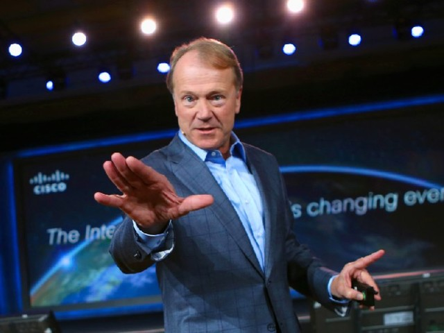 At age 69, former Cisco CEO John Chambers tells us 'I'm not retired' (CSCO)