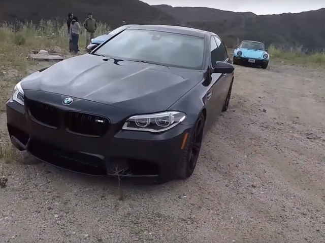 Video: BMW F10 M5 Competition Package Reviewed by Matt Farah