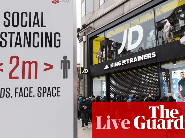 UK economy grew by 2.3% in April as Covid-19 restrictions eased – business live