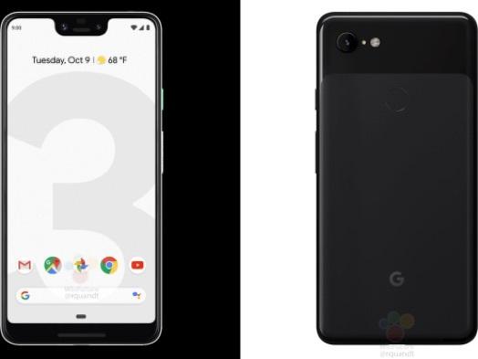 Google Pixel 3 and Pixel 3 XL press renders leaked