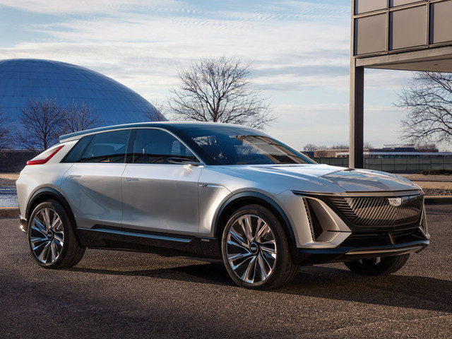 New Cadillac Lyriq is brand's first production electric car