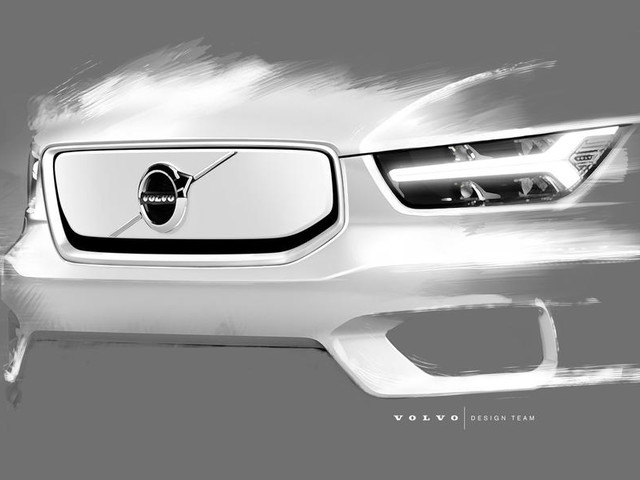 Volvo XC40 EV design and infotainment details revealed