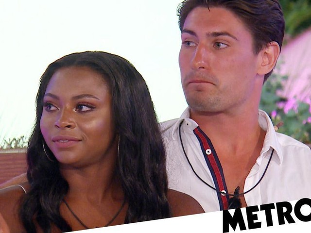 Love Island's Frankie asks Samira to be his girlfriend live on Aftersun after dramatic reunion