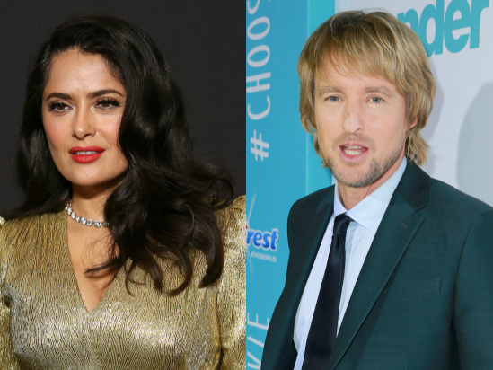 Salma Hayek and Owen Wilson to Star in Mind-Bending Love Story 'Bliss' at Amazon