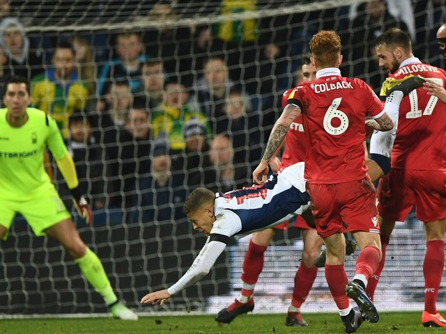 Darren Moore makes this Dwight Gayle admission after West Brom striker's ban for diving