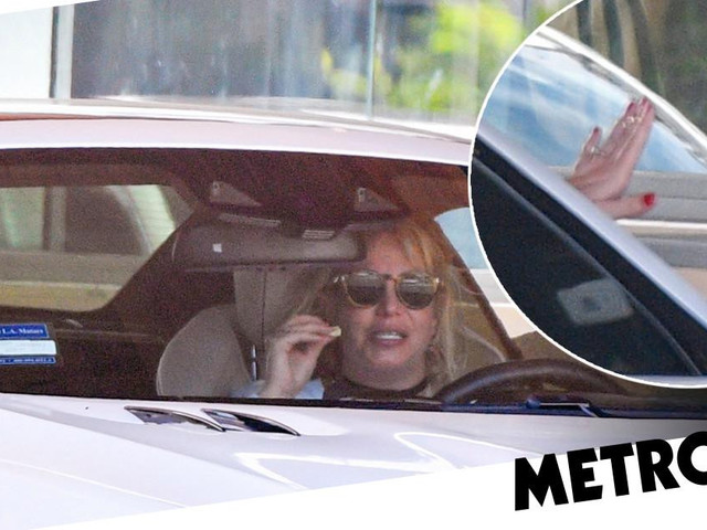 Britney Spears rocks bling on ring finger as she warns she's 'not even close' to being done with speaking out