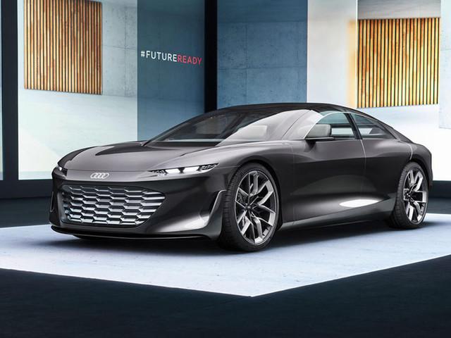 Audi Grandsphere concept breaks cover