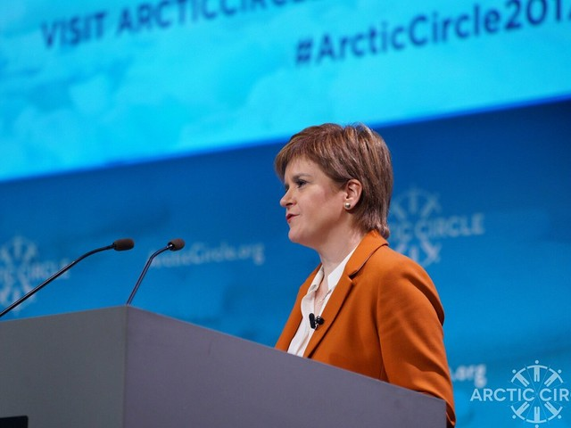 Nicola Sturgeon calls on Westminister to 'get its act together' on climate crisis