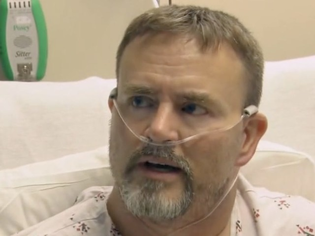 A man hospitalized with COVID-19 told CBS he'd still rather be sick than get a shot — and it shows how hard it'll be to convince everyone to get vaccinated