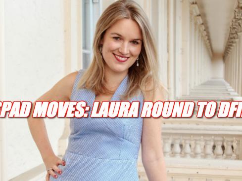Bright Blue's Laura Round to DFID