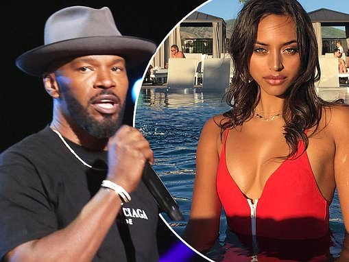 Jamie Foxx, 51, raves about Sela Vave calling her the 'next Beyonce'...