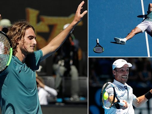 Stefanos Tsitsipas books place in Australian Open semi-finals