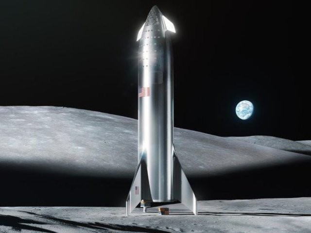 Elon Musk says SpaceX could land on the moon in 2 years. A NASA executive says 'we'll partner with them, and we'll get there faster' if the company can pull it off.