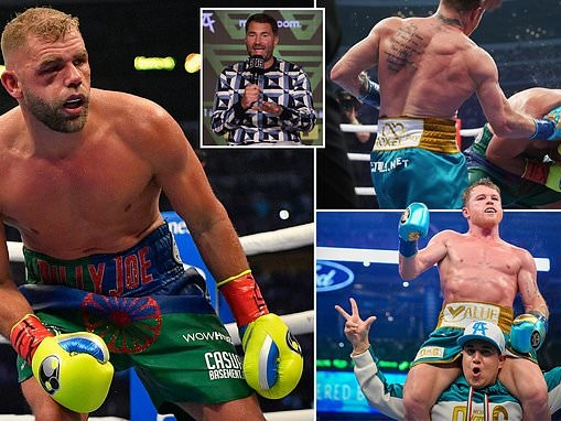 Eddie Hearn: Billy Joe Saunders is out for a 'long, long time' and is in hospital for eye injury