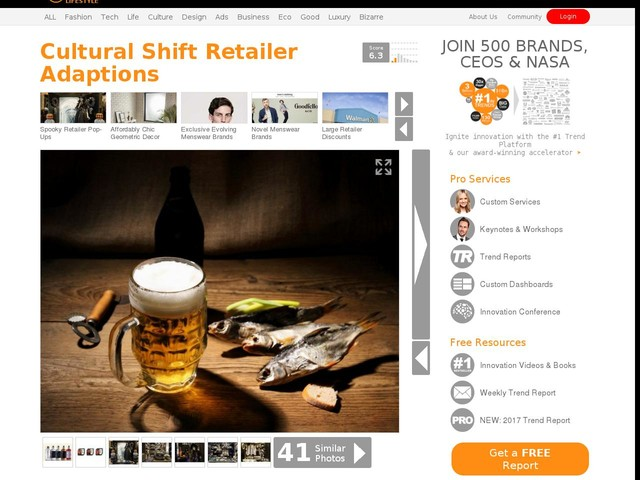 Cultural Shift Retailer Adaptions - E-Mart is Now Offering Food for its 'Honsul' Customers (TrendHunter.com)