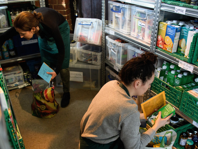 My Local Foodbank Has Seen An 82% Usage Increase Since Universal Credit Was Rolled Out