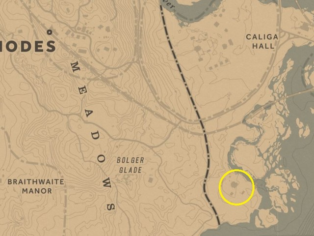 Red Dead Redemption 2 gang hideouts map – all gang hideouts locations