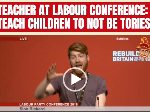 Teacher at Labour Conference: Teach Children to not be Tories